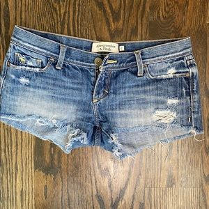 Abercrombie and Fitch Daisy dukes Jean shorts